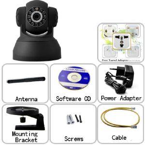 camera de surveillance wifi avec vision de nuit. Black Bedroom Furniture Sets. Home Design Ideas