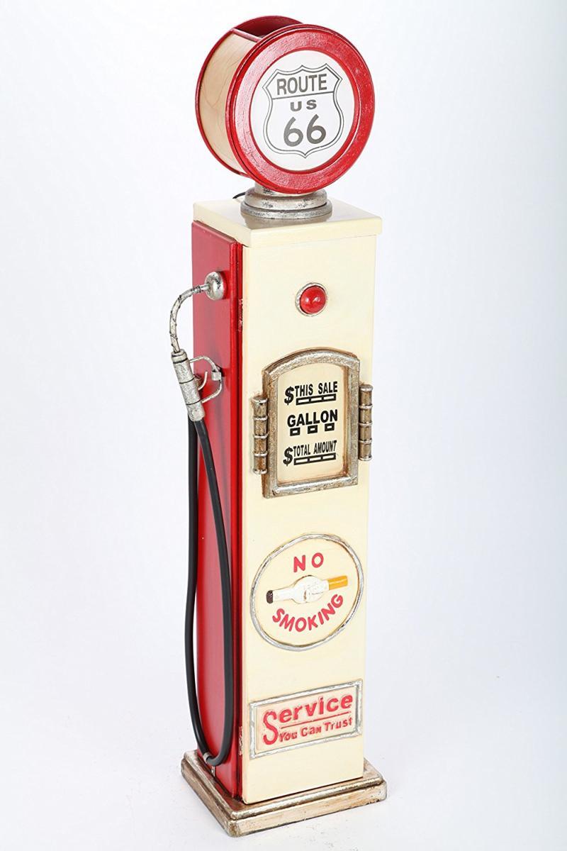 CD - pompe à essence avec éclairage, style américain