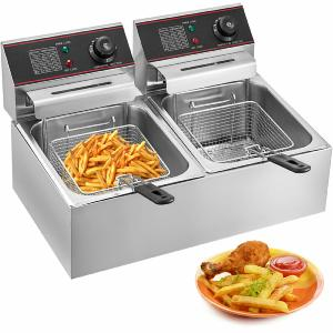 FRITEUSE professionnel INOX, 12 Litres, 5000 W