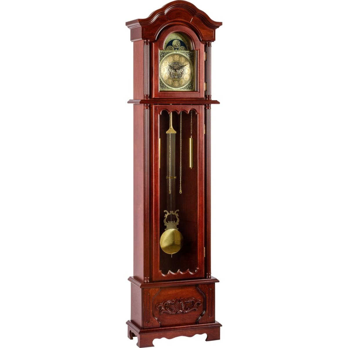 horloge pendule 200 cm style ancien acajou. Black Bedroom Furniture Sets. Home Design Ideas