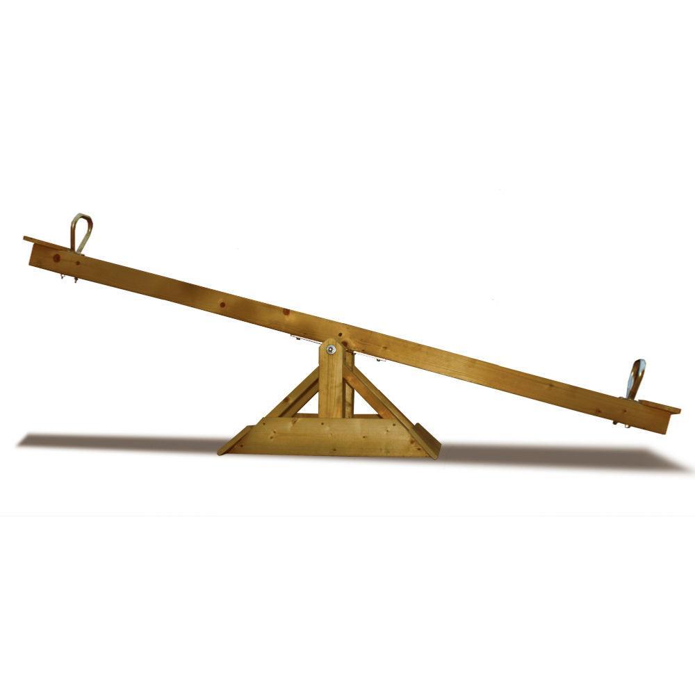 balancoire bascule en bois massif 85 kg. Black Bedroom Furniture Sets. Home Design Ideas