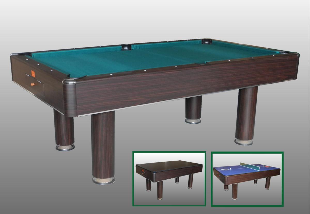 La Chaise Longue Billard table billard, salle à manger et plateau ping-pong