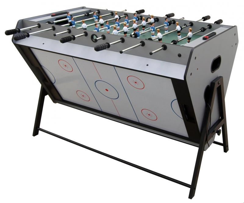 Table de jeu 3 en 1 air hockey baby foot et billard for Jeu des tables