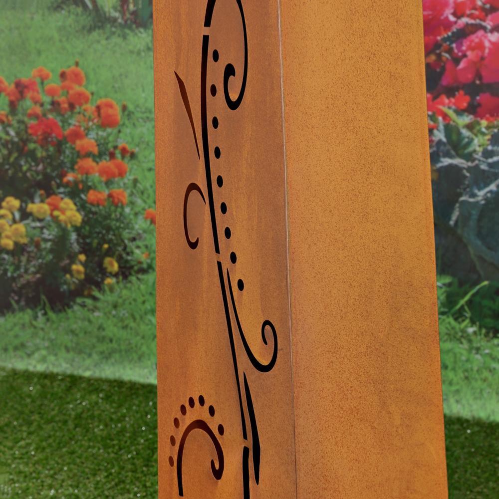 d coration deco jardin metal rouille 31 la rochelle. Black Bedroom Furniture Sets. Home Design Ideas