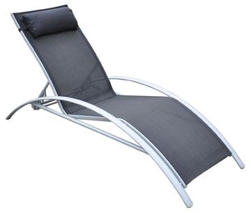 salon de jardin en aluminium avec 8 chaises 1 chaise longue 2 reposes pieds. Black Bedroom Furniture Sets. Home Design Ideas