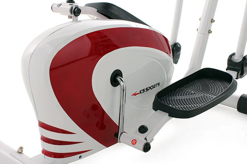 V lo elliptique appareil fitness crosstrainer ergometre - Roue d inertie velo elliptique ...