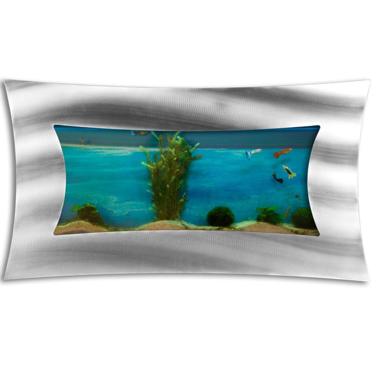 aquarium mural design 590x325x110 mm. Black Bedroom Furniture Sets. Home Design Ideas