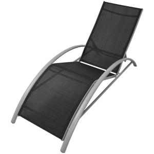 CHAISE LONGUE en ALUMINIUM, 5 positions