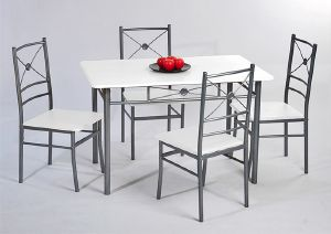table chaises ensemble salle manger. Black Bedroom Furniture Sets. Home Design Ideas