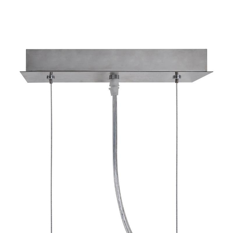 lampe suspendue rectangulaire en verre pour salle manger. Black Bedroom Furniture Sets. Home Design Ideas