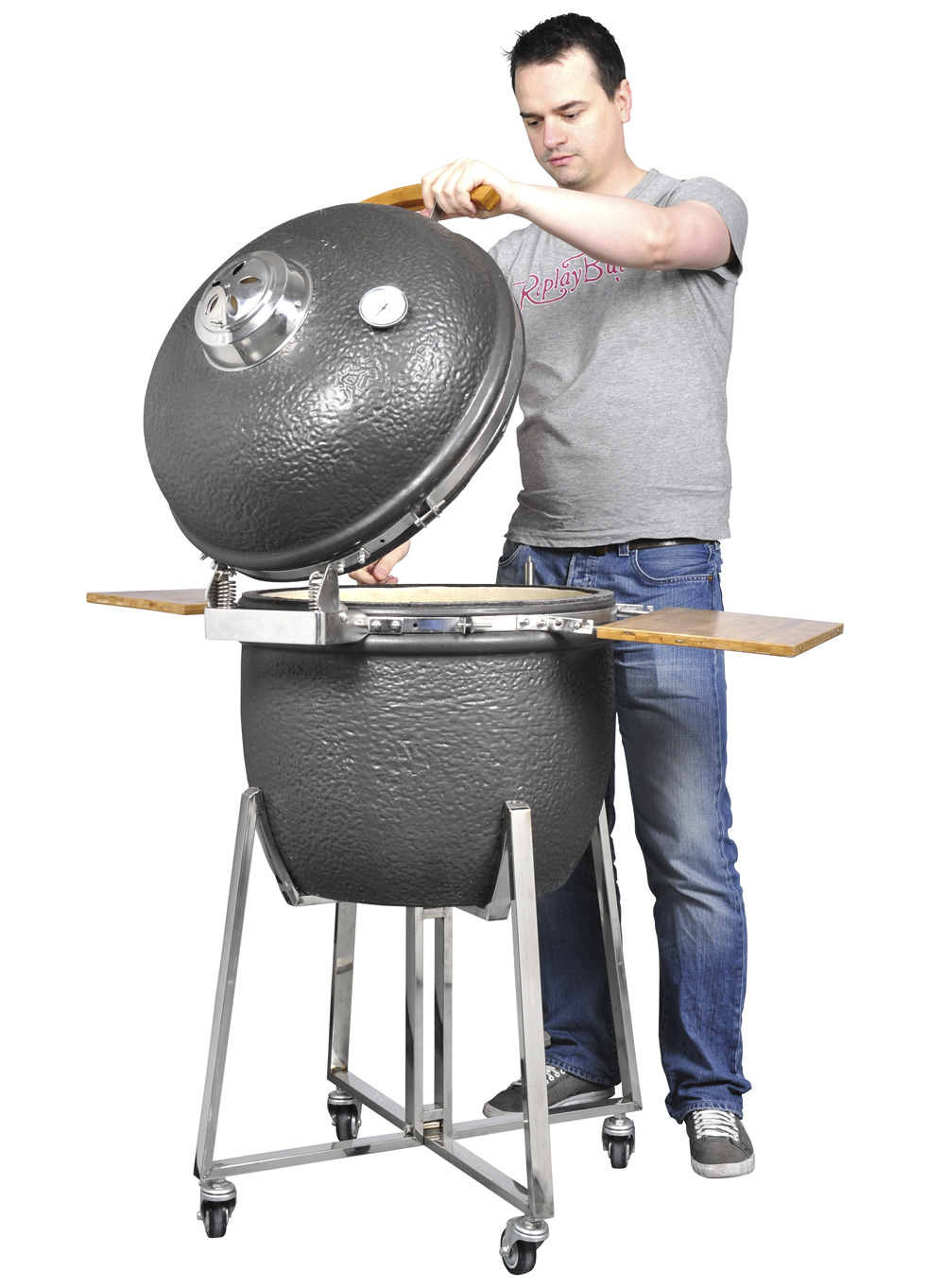barbecue en c ramique haut de gamme. Black Bedroom Furniture Sets. Home Design Ideas