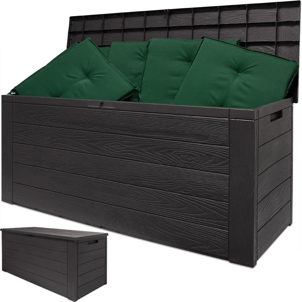 coffre de rangement ext rieur ou int rieur imitation bois. Black Bedroom Furniture Sets. Home Design Ideas