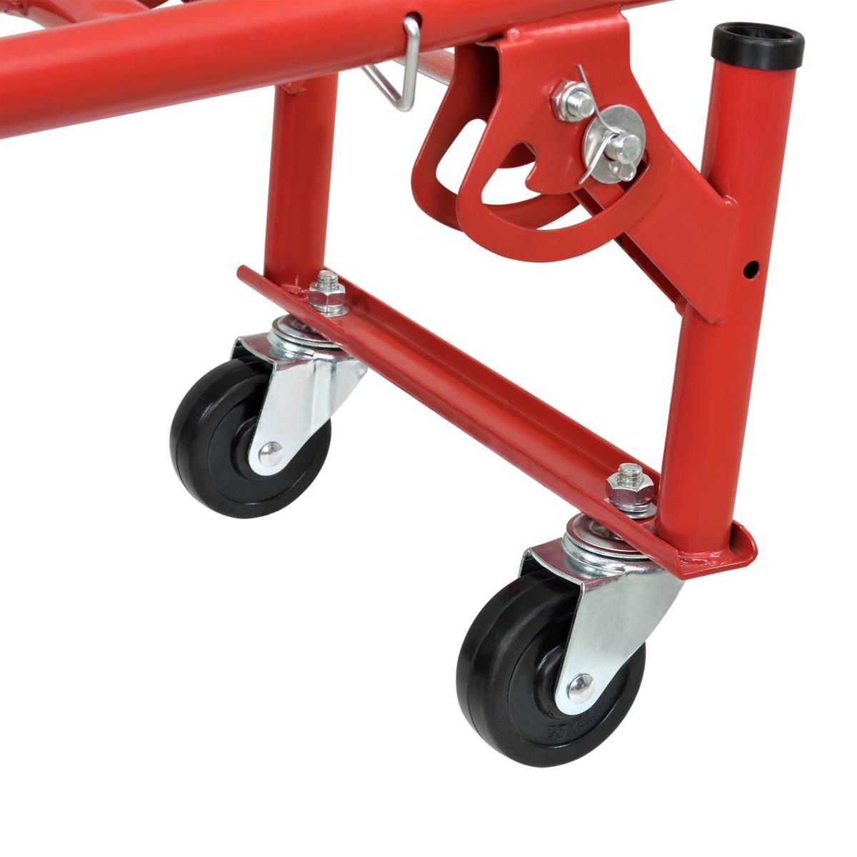 diable 6 roues pour escalier transformable en chariot. Black Bedroom Furniture Sets. Home Design Ideas