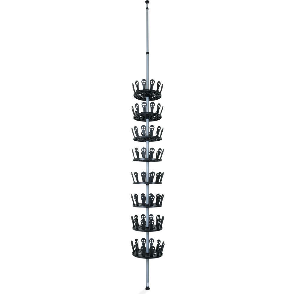 range chaussures carrousel pour 48 paires. Black Bedroom Furniture Sets. Home Design Ideas