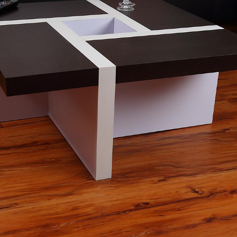 Table basse mod le oregon marron blanc for Table basse marron