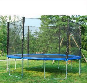 trampoline 430 cm avec filet de securite. Black Bedroom Furniture Sets. Home Design Ideas