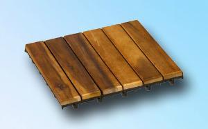 dalles pour terrasse en bois exotique acacia. Black Bedroom Furniture Sets. Home Design Ideas