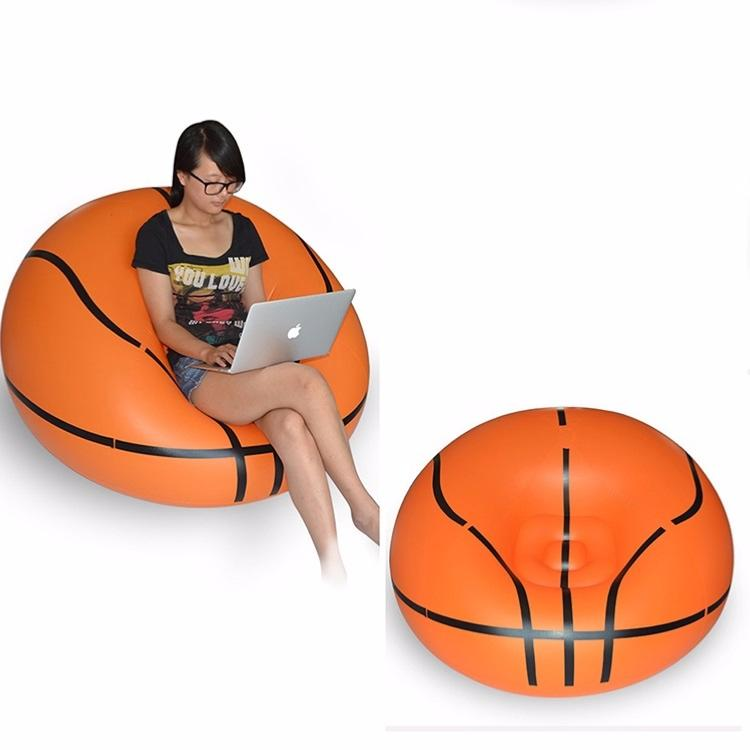 Fauteuil gonflable ballon de basket - Fauteuil ballon de foot ...
