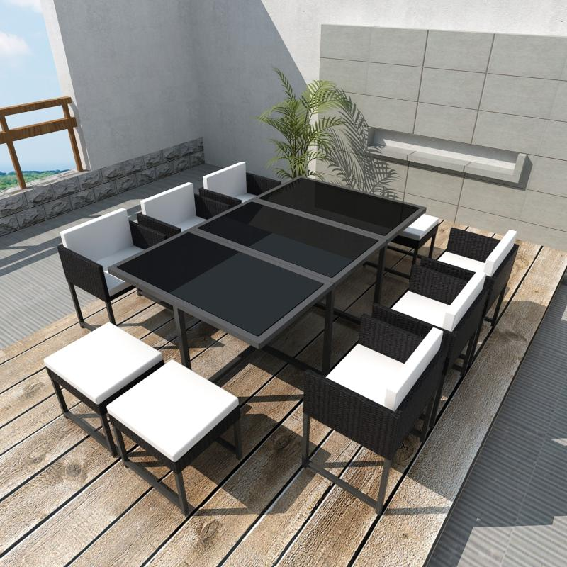 salon de jardin canap r sine tress e 8 10 ou 12 personnes. Black Bedroom Furniture Sets. Home Design Ideas